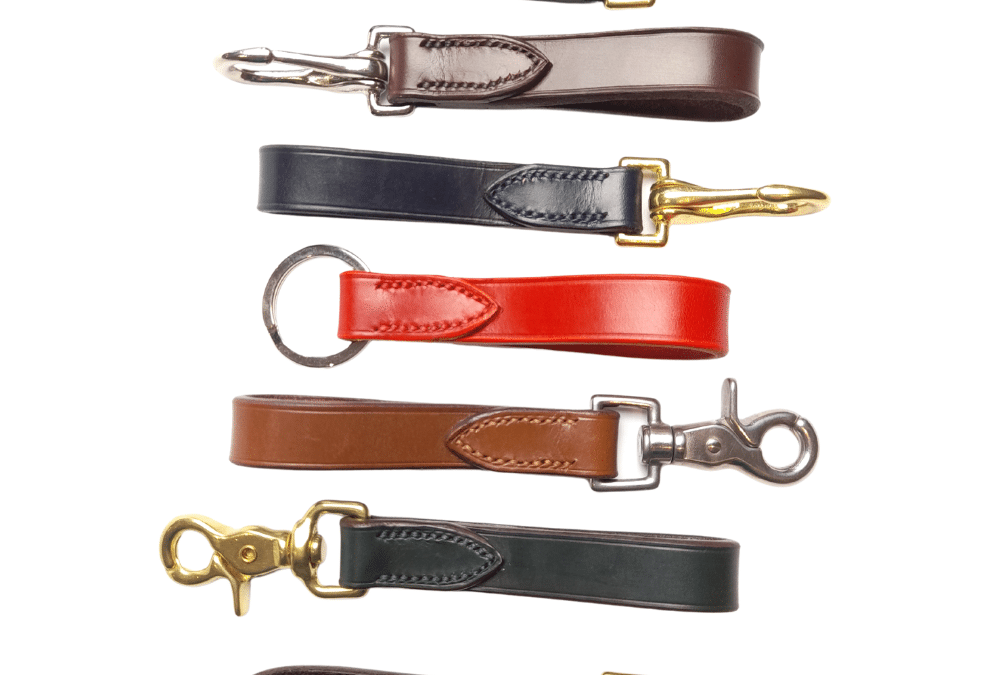Stitched Leather Key Holders