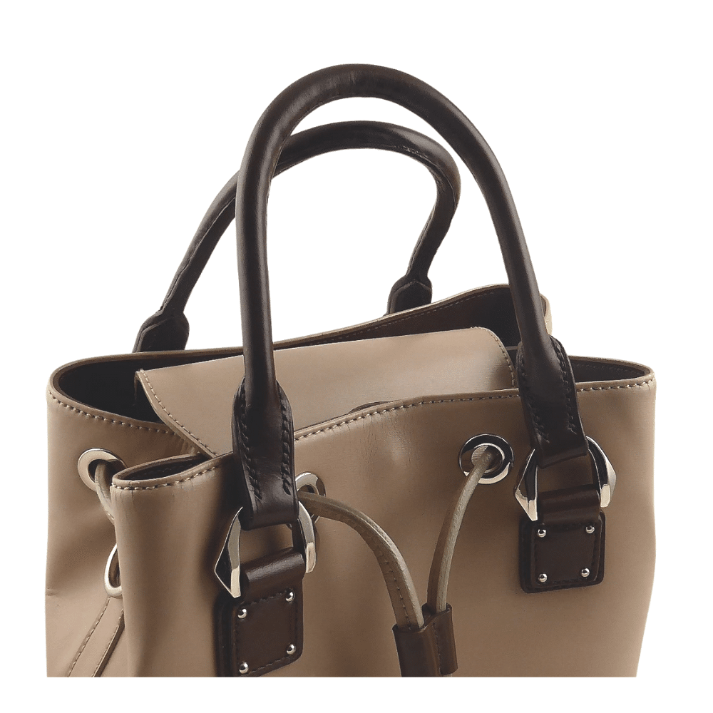 ESB Leather new Rolled leather bag handles fitted